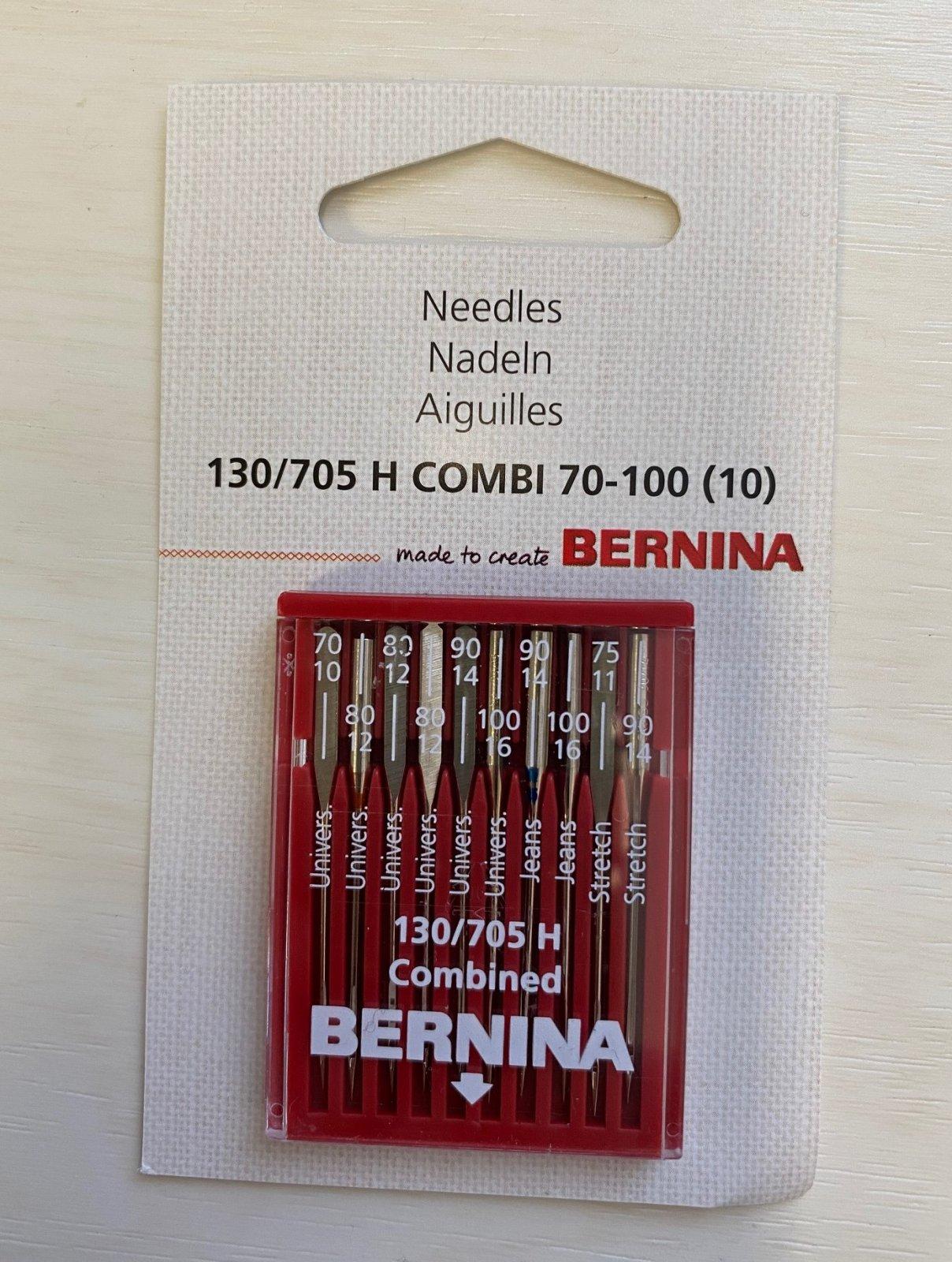 Bernina Needle Assortment 130/705 H Combi 70-100 (10 pack)