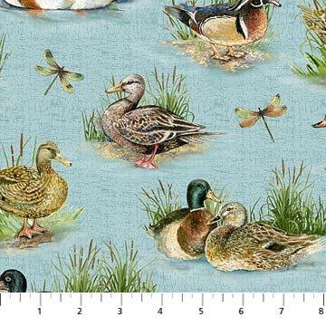 Stoney River Ducks Aqua