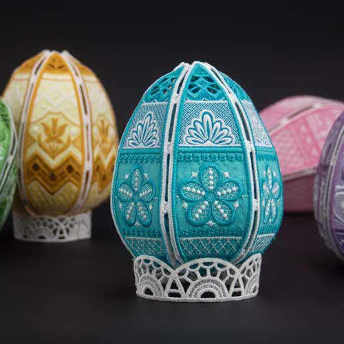 Free Standing Easter Eggs