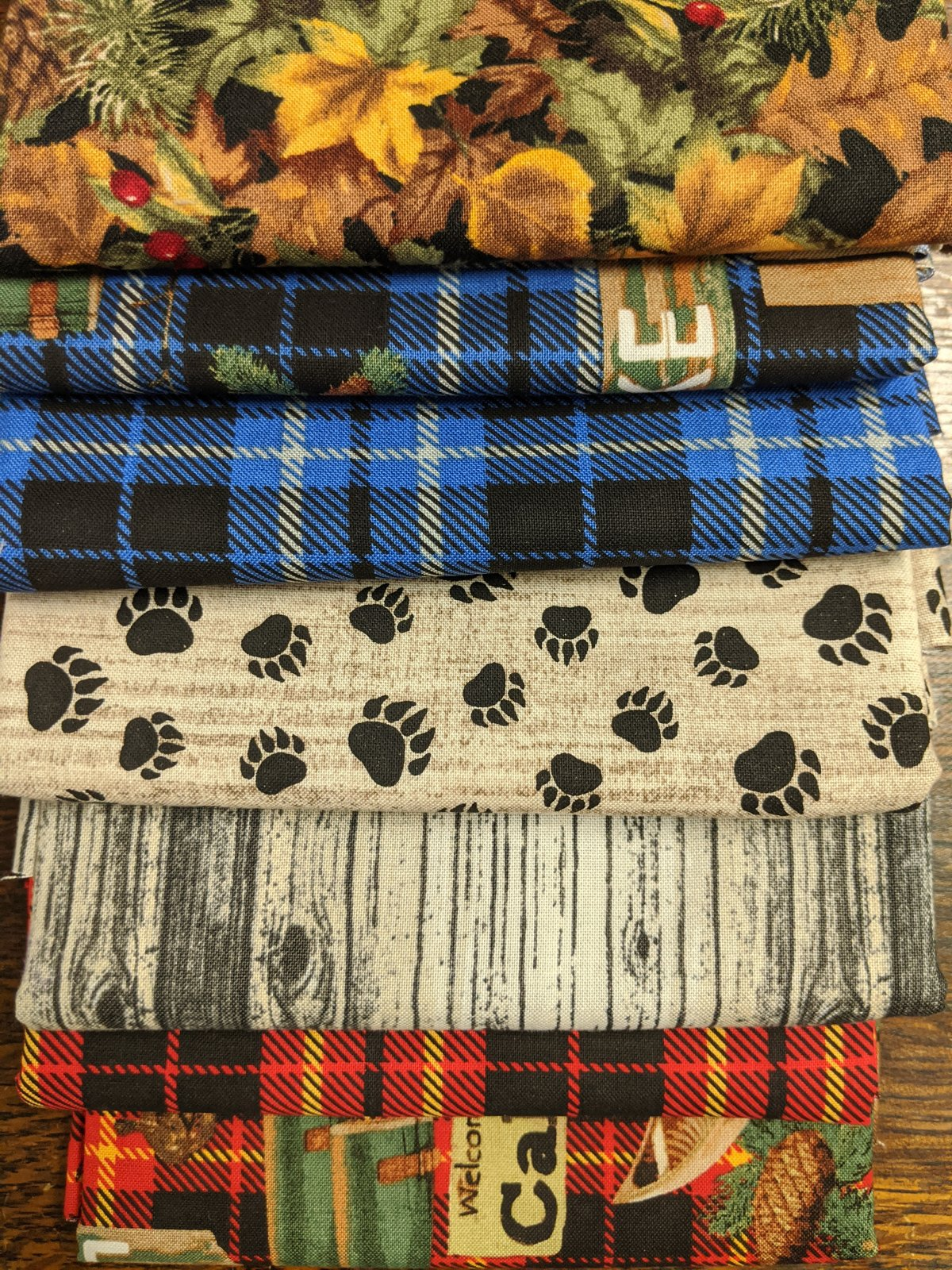 Lakehouse 1/2 Yard 7 piece Bundle