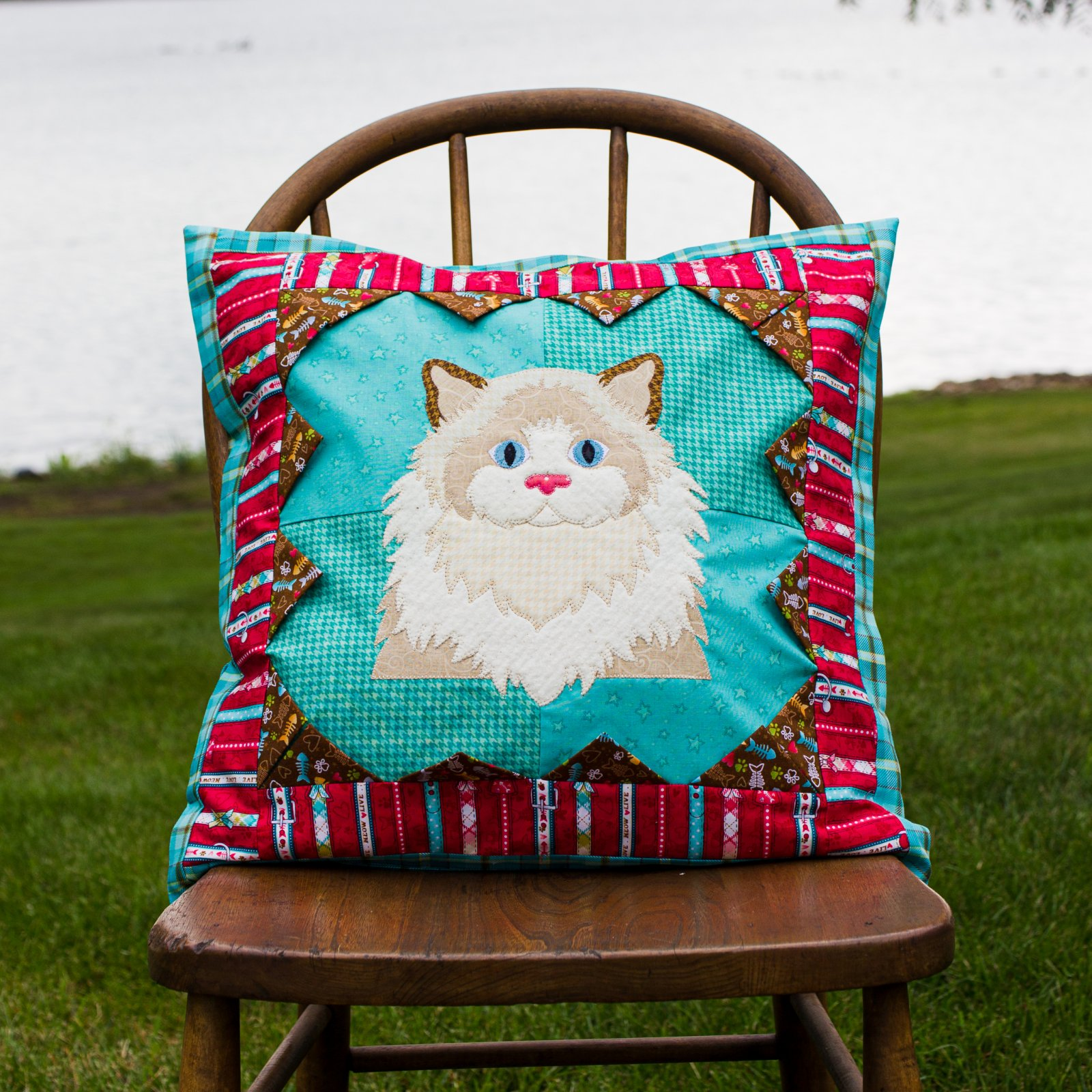 Patches & Points Pillow Cover Pattern