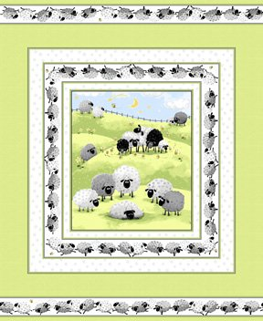 Lewe the Ewe Panel SB20330-810