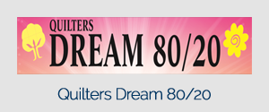 Quiters Dream 80/20 White Craft