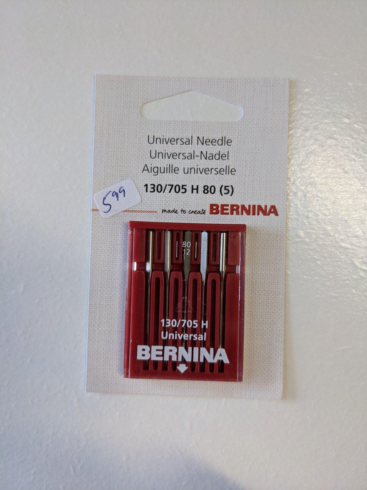 Bernina Universal Needle 130/705 H 80 (5)