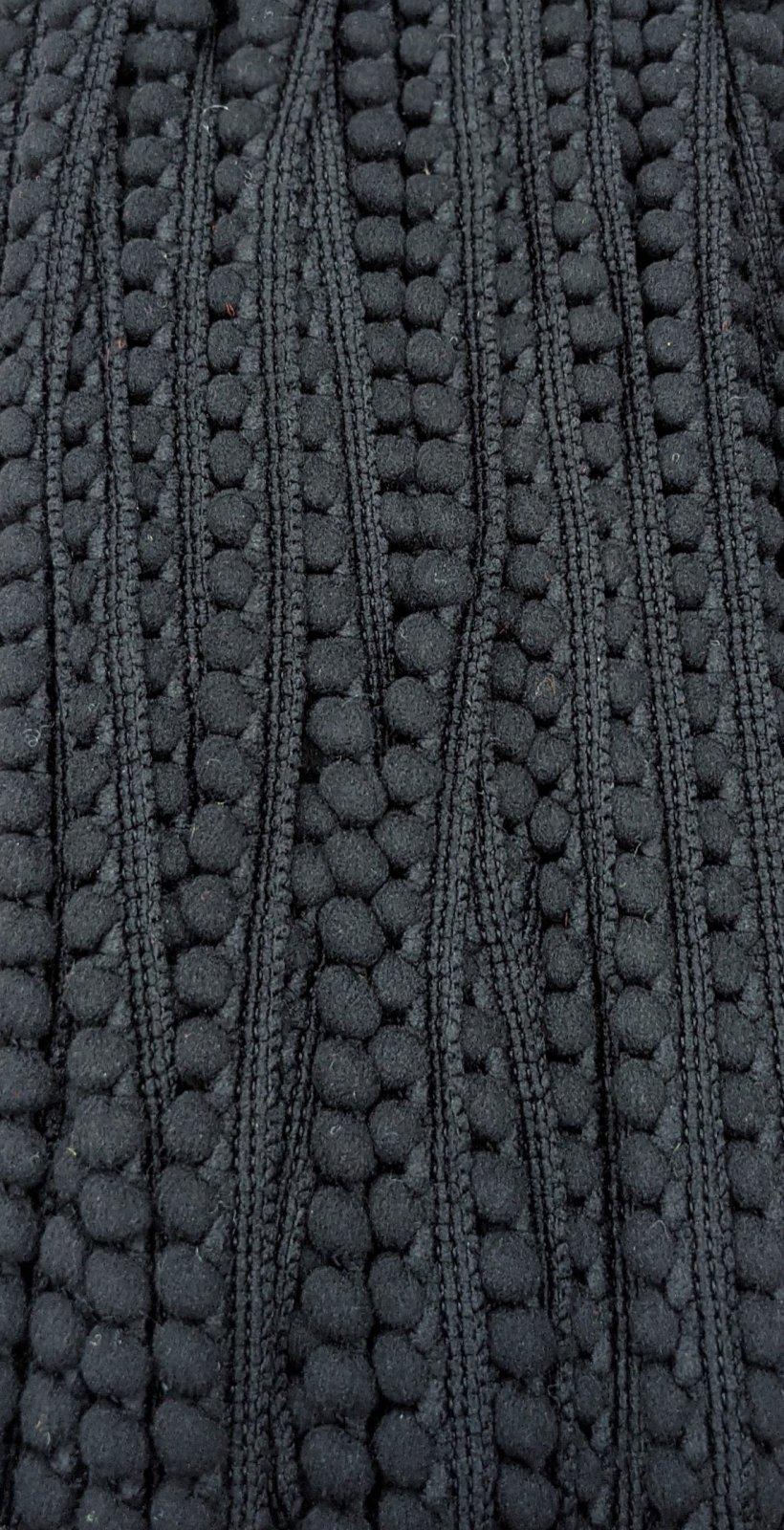Mini Pom Pom Trim 3/8 - Black