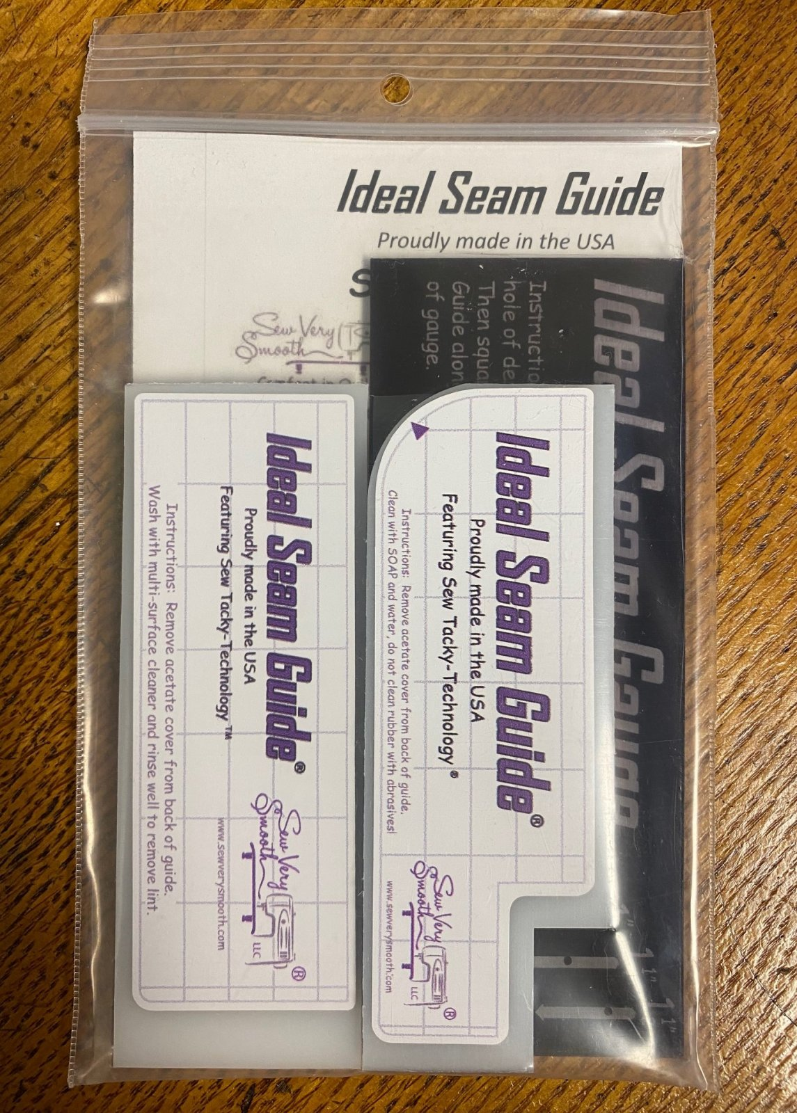 Sew Very Smooth Student Edition Ideal Seam Guide Kit