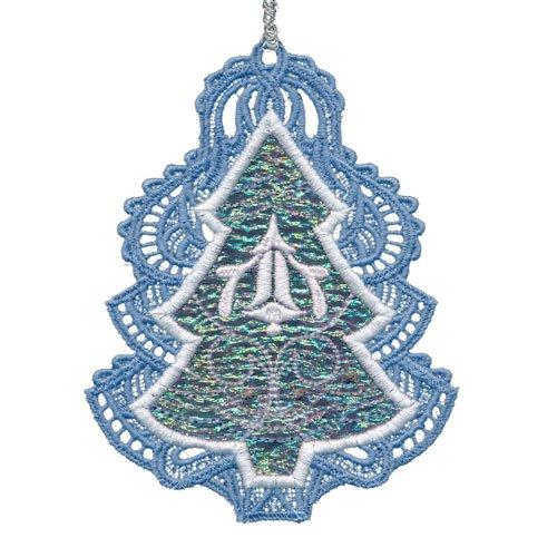 OESD Silver Bells Ornaments