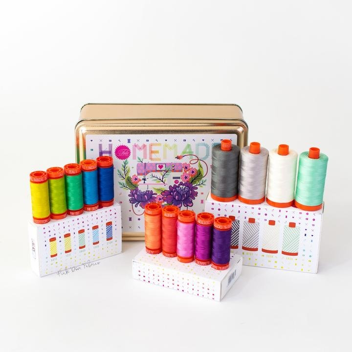 Aurifil Thread Set - Homemade by Tula Pink