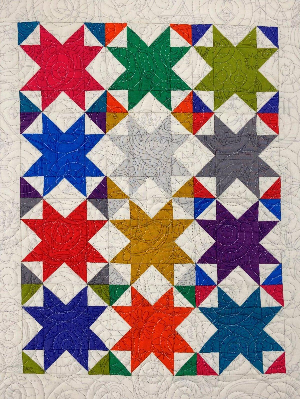 April Monthly Mini Fabric Kit