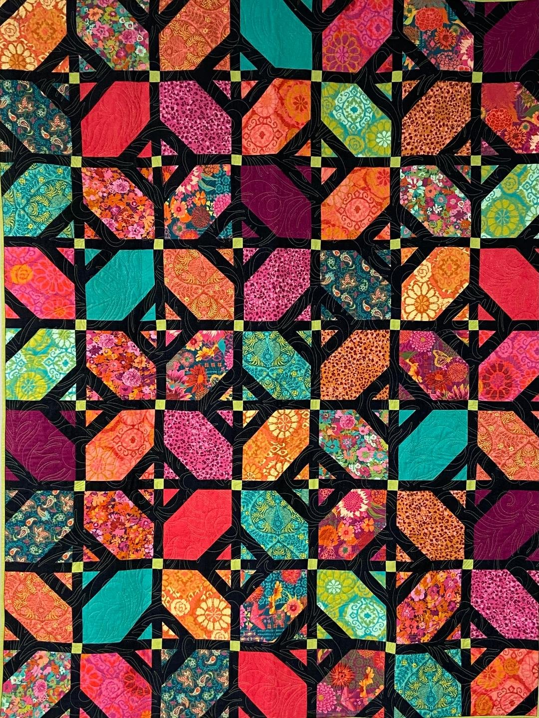 Fanciful Floor Quilt Kit