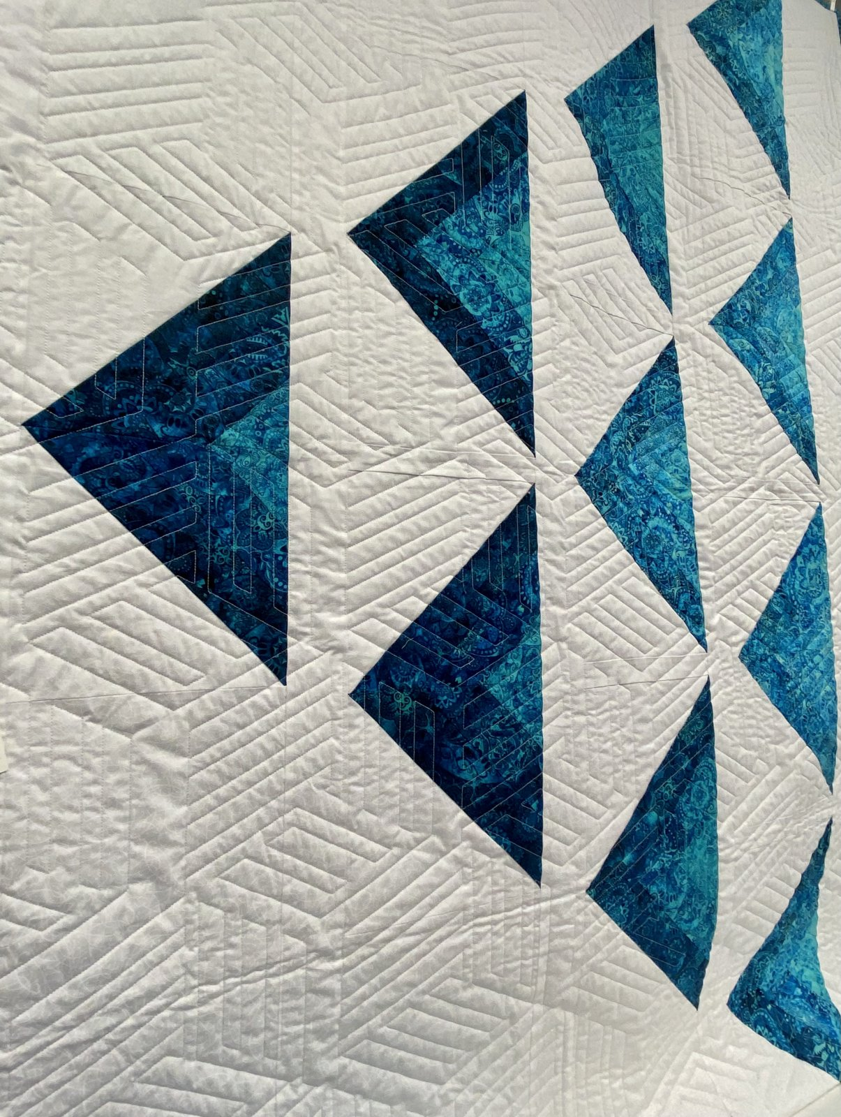 Flight of the Grey Geese Quilt Kit