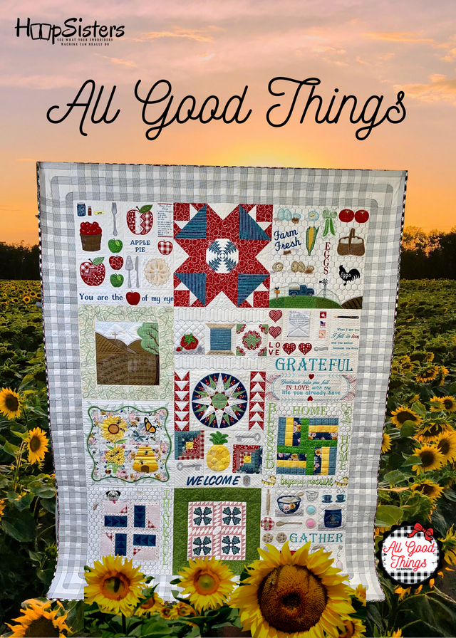 All Good Things HoopSisters Embroidery USB