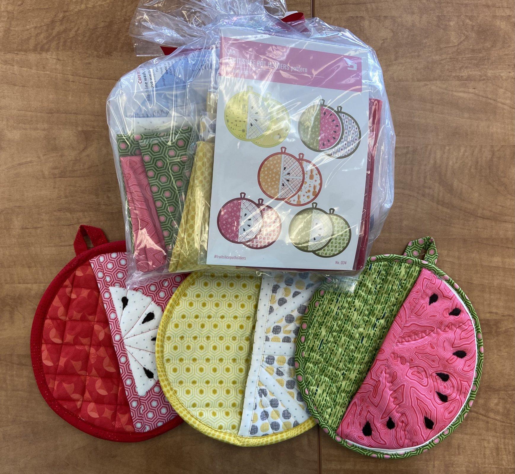 Fruit Slice Pot Holder Kit