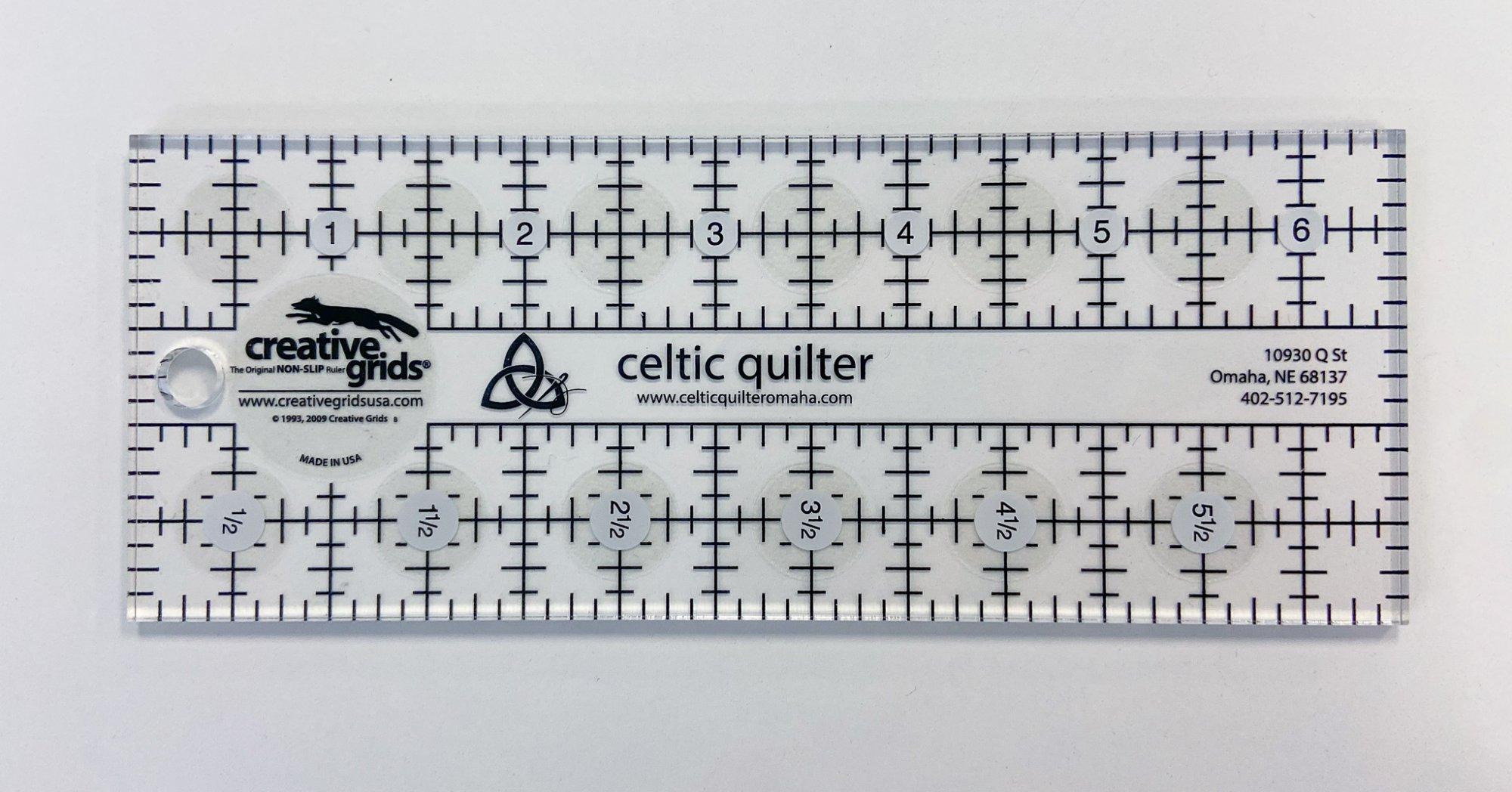 Celtic Quilter Shop Ruler