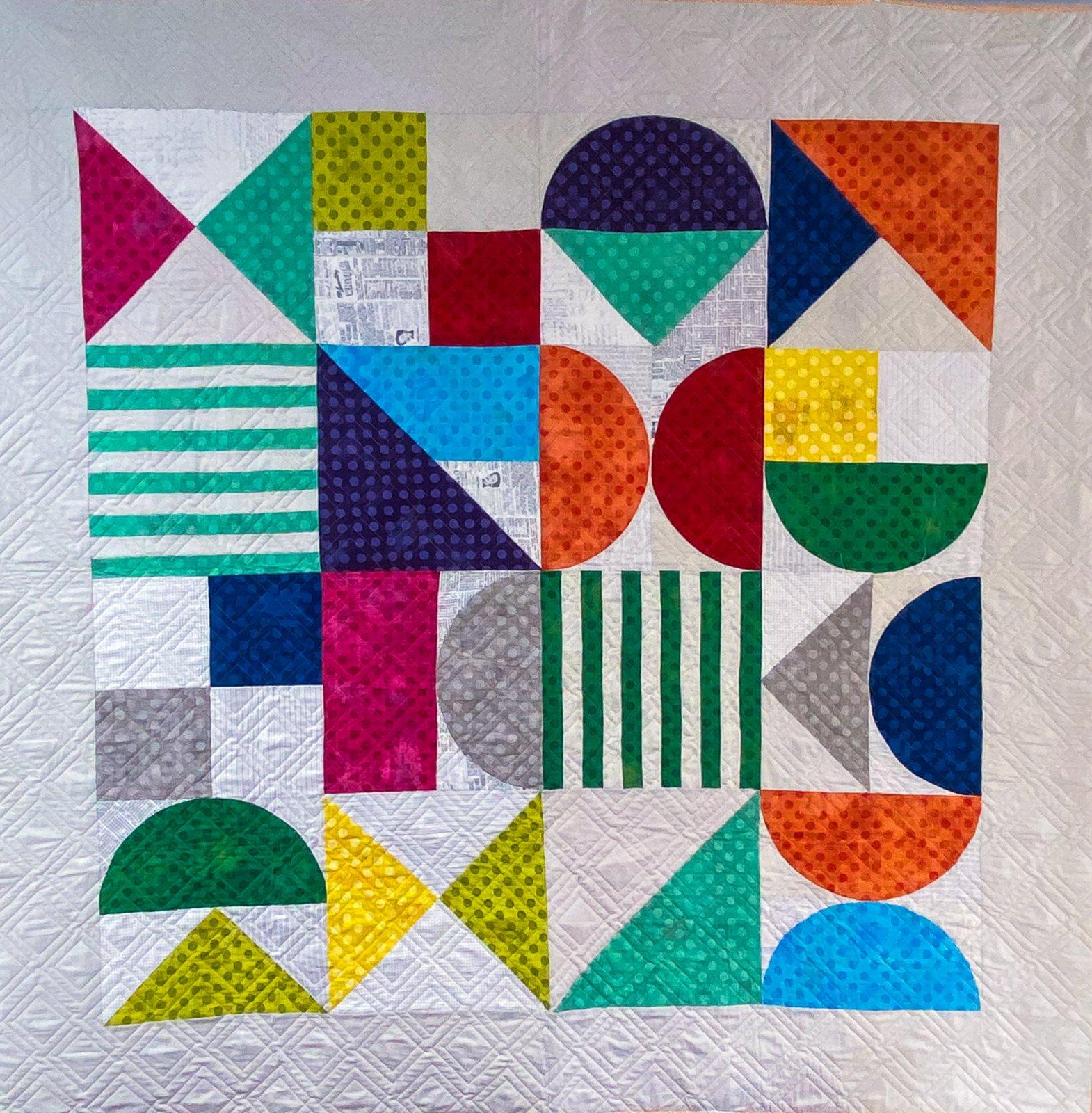 Bauhaus Quilt Kit