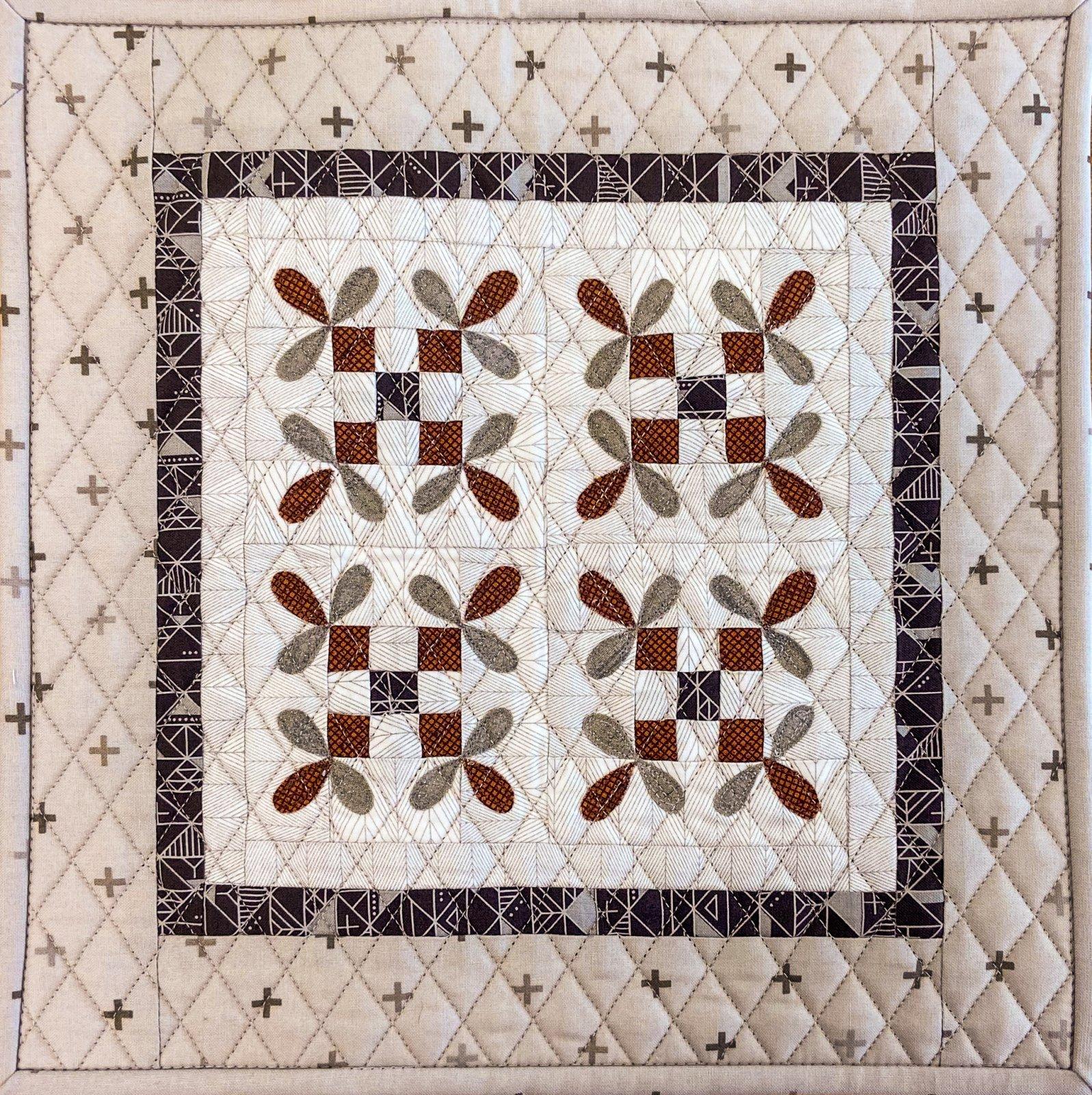 September Monthly Mini Fabric Kit
