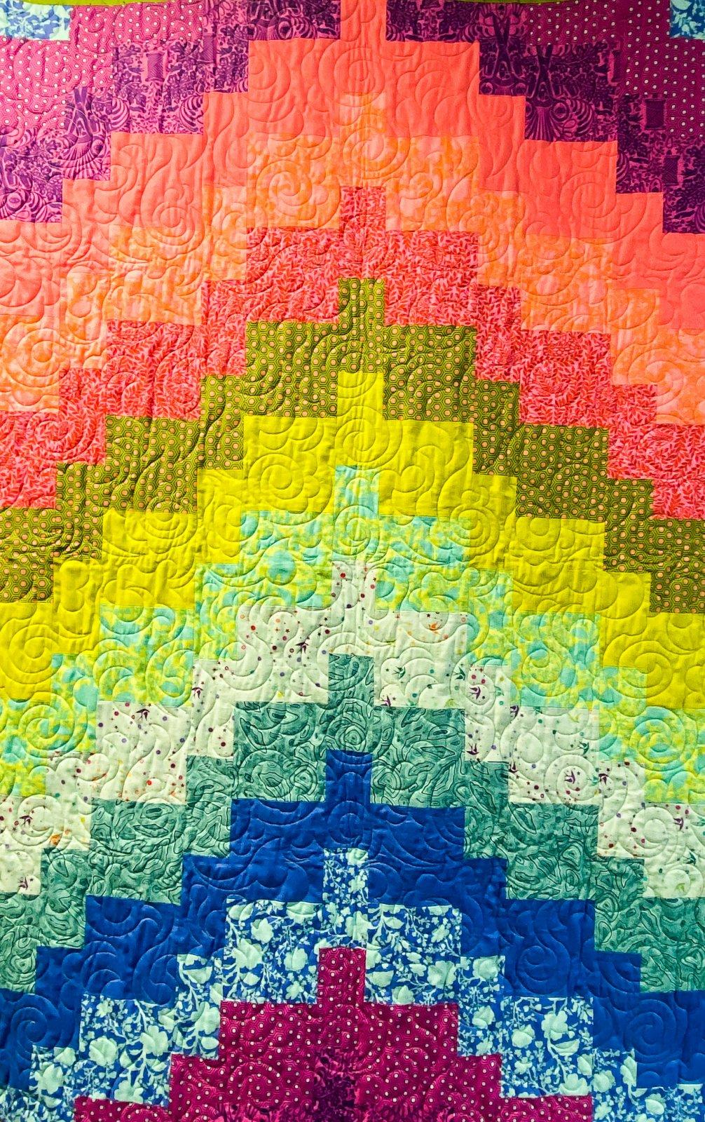 Modern Rainbow Bargello Kit