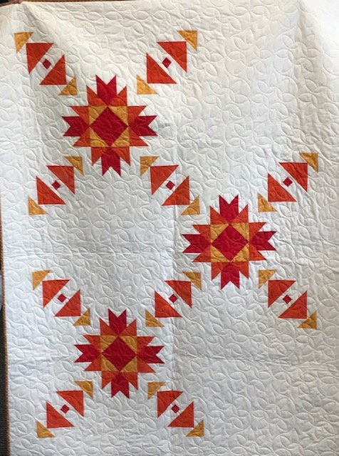 Triple Sunset Quilt Kit