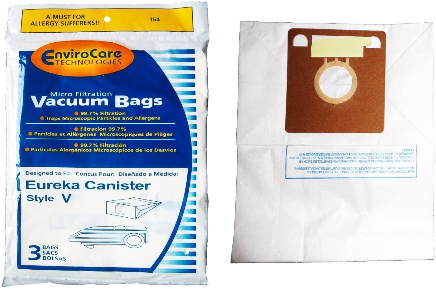Eureka Style V Vacuum Bags (3-Pack)