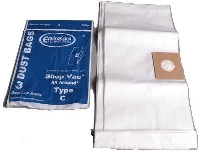 Shop-Vac Bags - Type C 3 Gallon 3 Pk    # 380SW