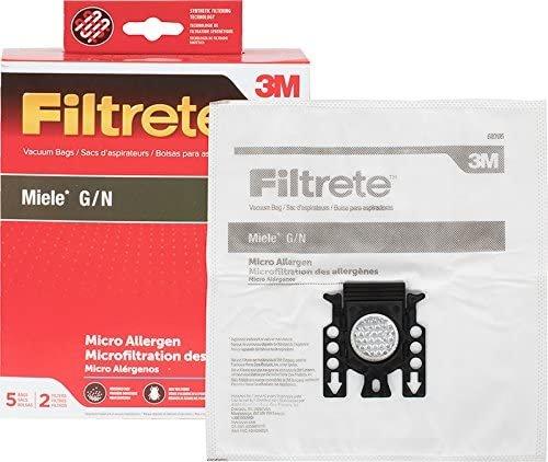 3M Filtrete Miele G/N Synthetic Vacuum Bag
