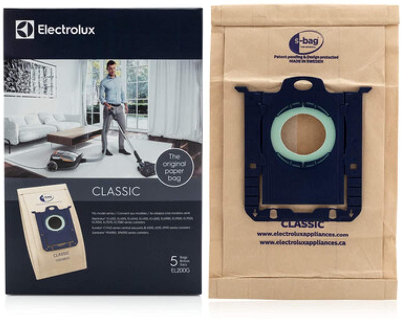 Electrolux S-Bag Classic Vacuum Bags EL200F - 5 -  Pack