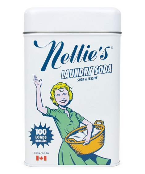Nellie's Laundry Soda - 100 Load Tin