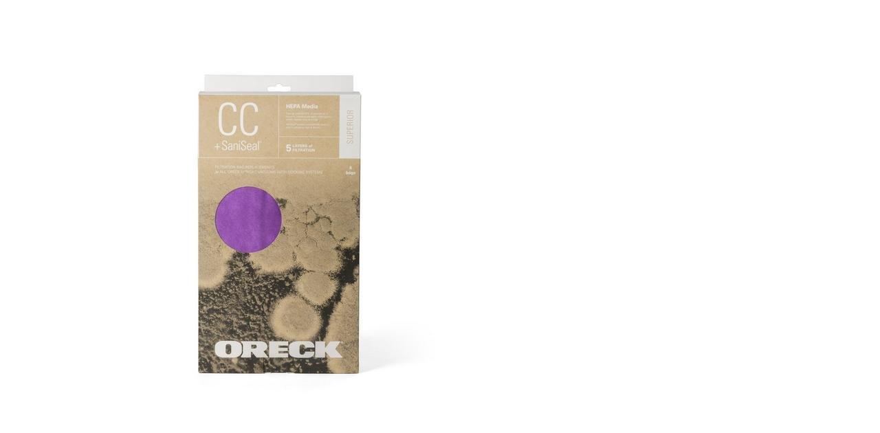 Oreck AK1CC6H HEPA Superior Purple Bags
