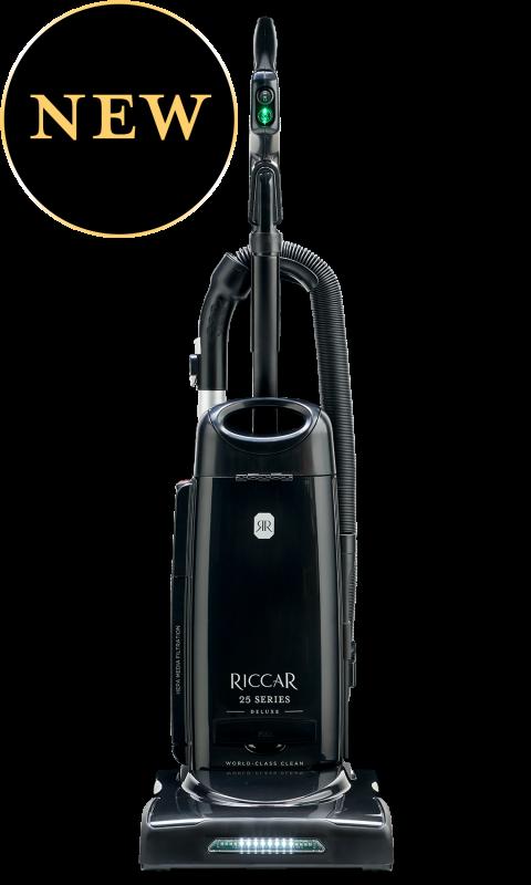Riccar R25D Deluxe Clean Air Upright Vacuum