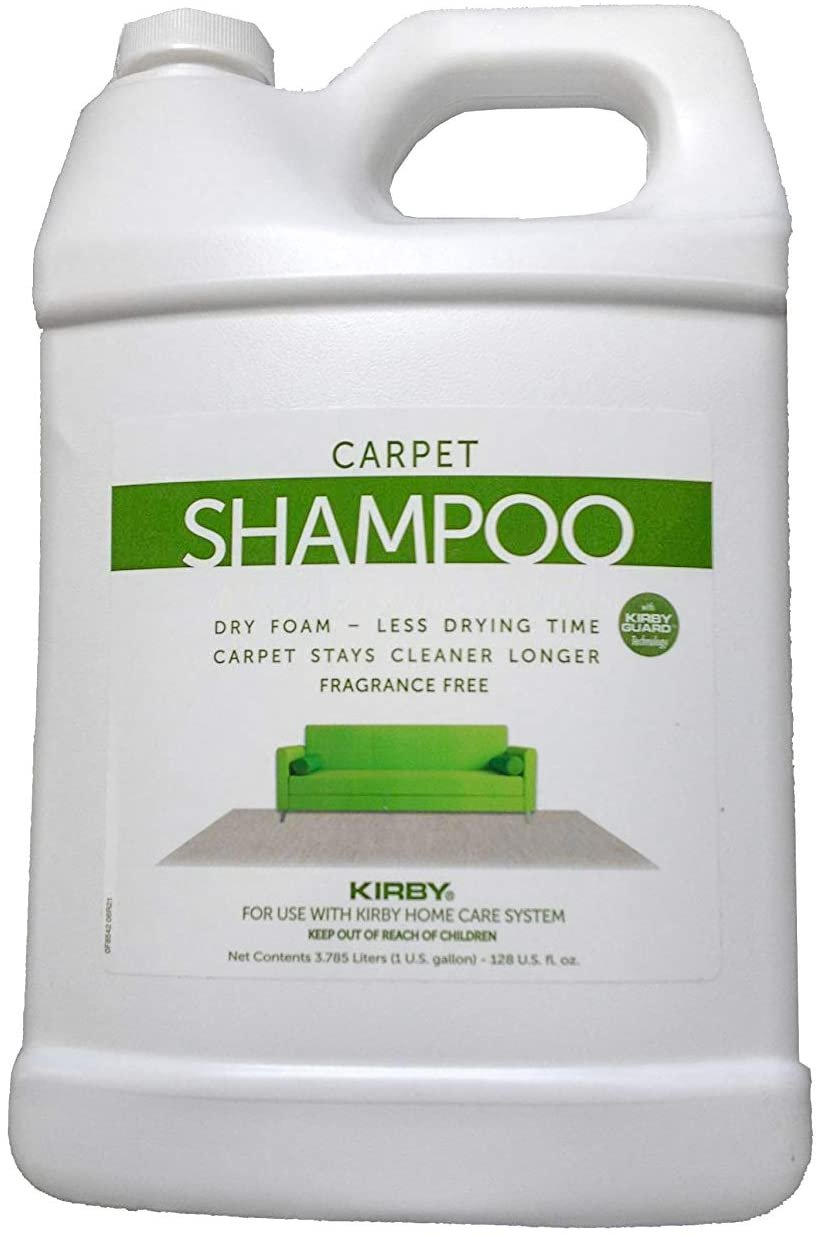 Kirby Unscented Allergen Carpet Shampoo (1-Gallon)