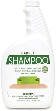 Genuine Kirby Allergen Control Formula Foaming Carpet Shampoo 32 oz