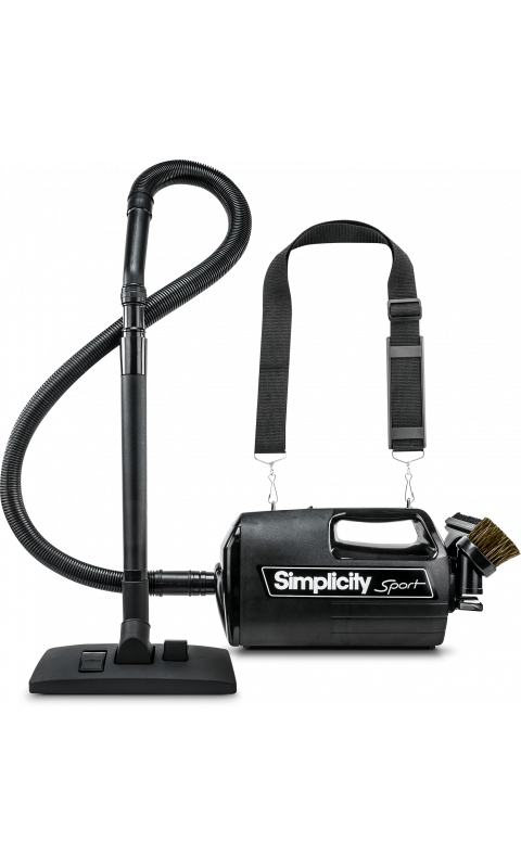 Simplicity Sport S100.4 - Portable Lightweight Canister Vacuum