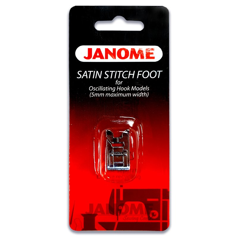 Janome Satin Stitch Foot for Oscillating Hook Models
