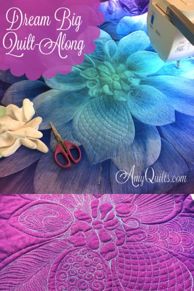 dream big dahlia quilt along