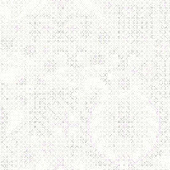 Sun Print Cross Stitch in Unicorn