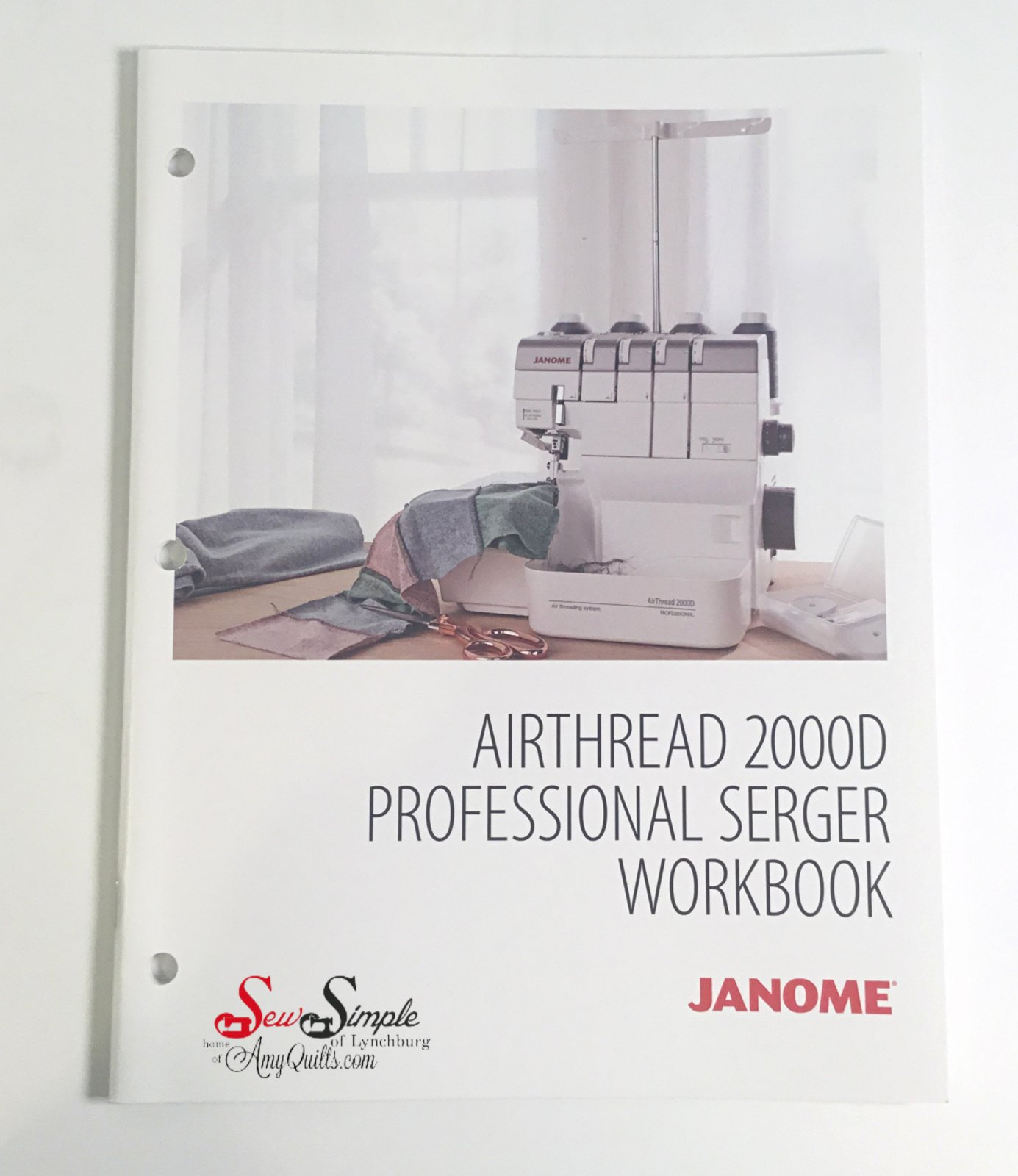 Janome AT2000D Workbook