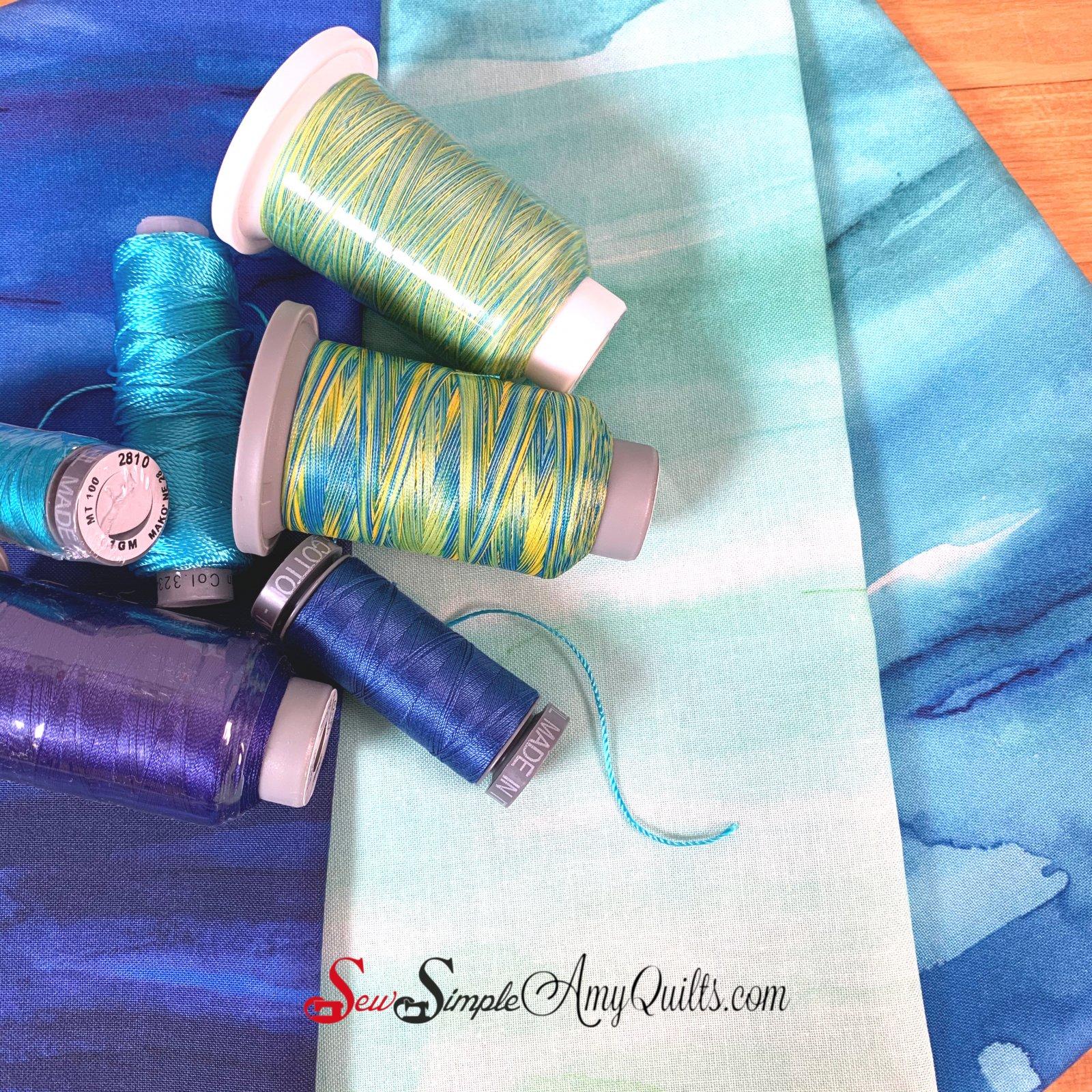 Cool Rainbow Thread Play Kit
