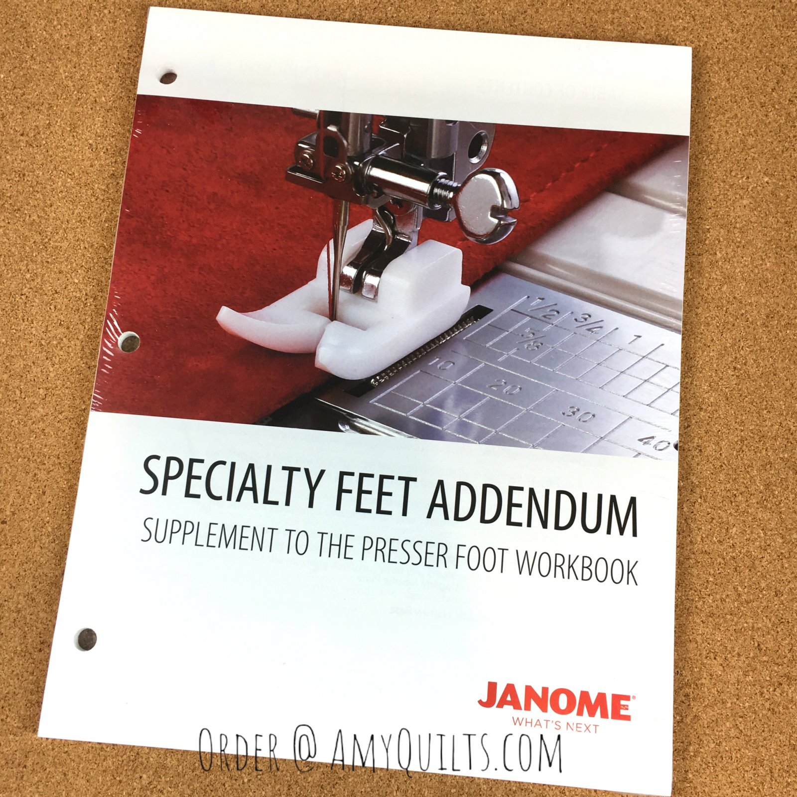 Janome Specialty Feet Addendum