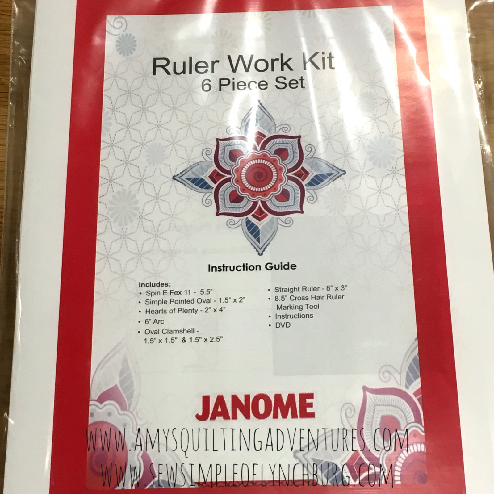 Janome Ruler Work Kit