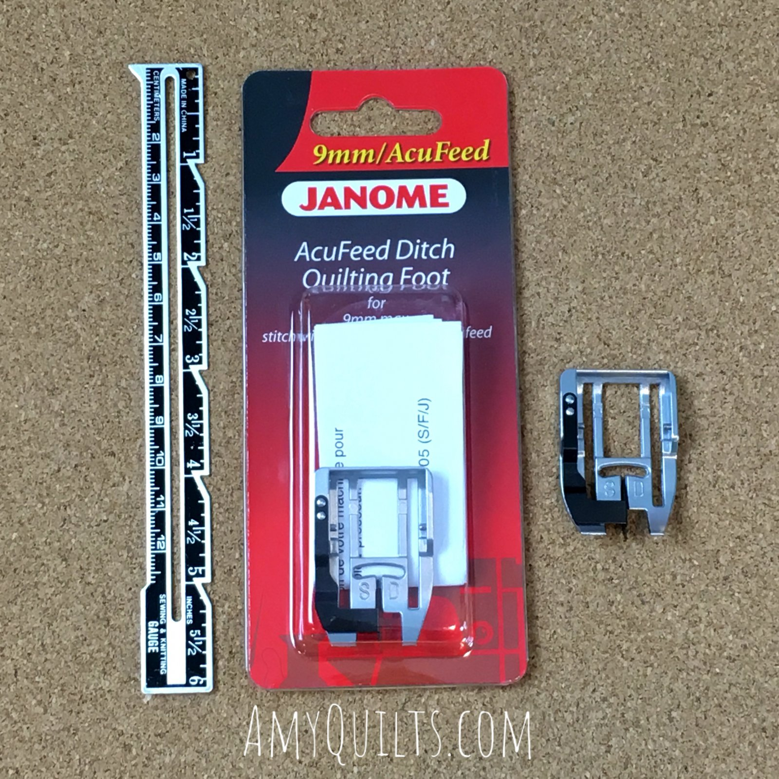 Janome AcuFeed Ditch Quilting Foot (SD)