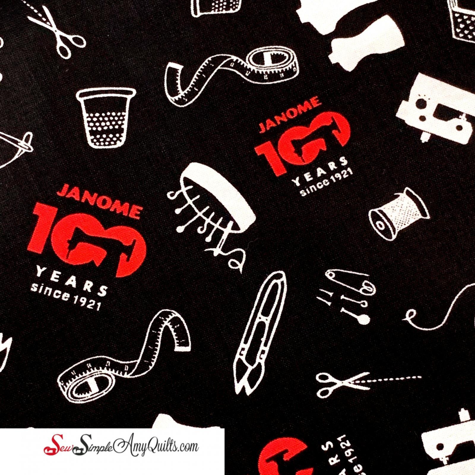 Janome 100 Year Anniversary Fabric