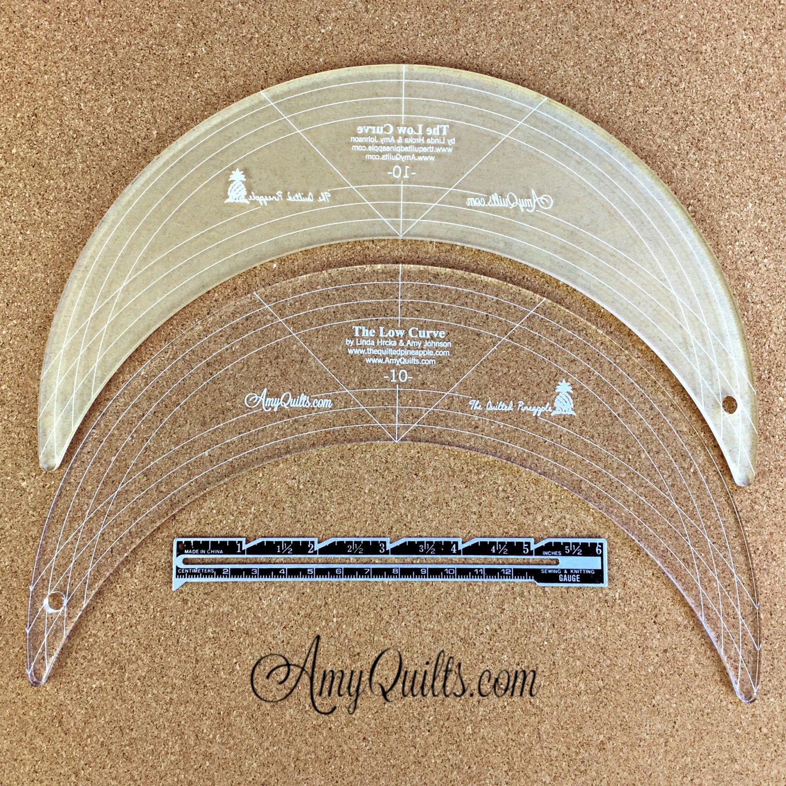 Low Curve Ruler 10