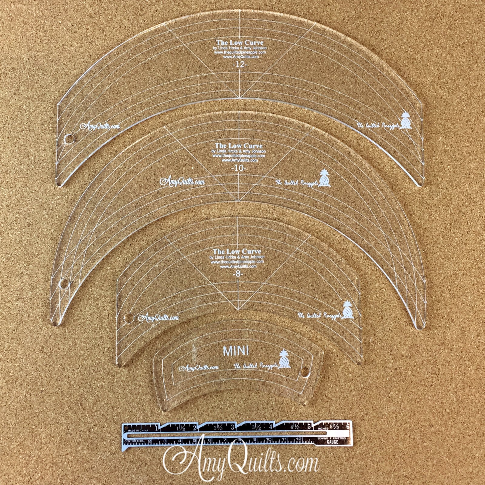 Low Curve Rulers, Classic Set