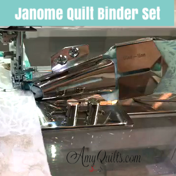 Janome Quilt Binder Set