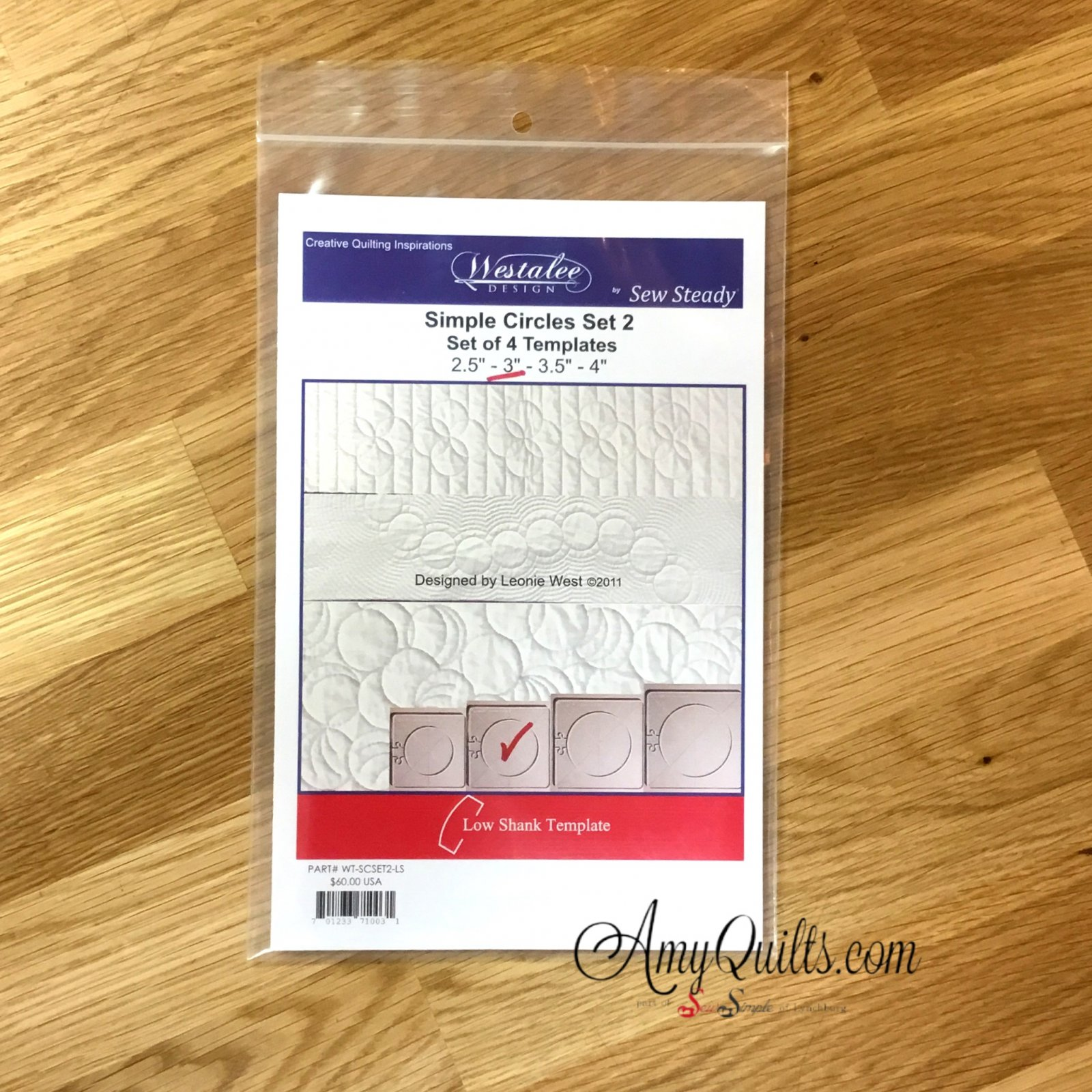 Westalee Simple Circle 3 inch template only