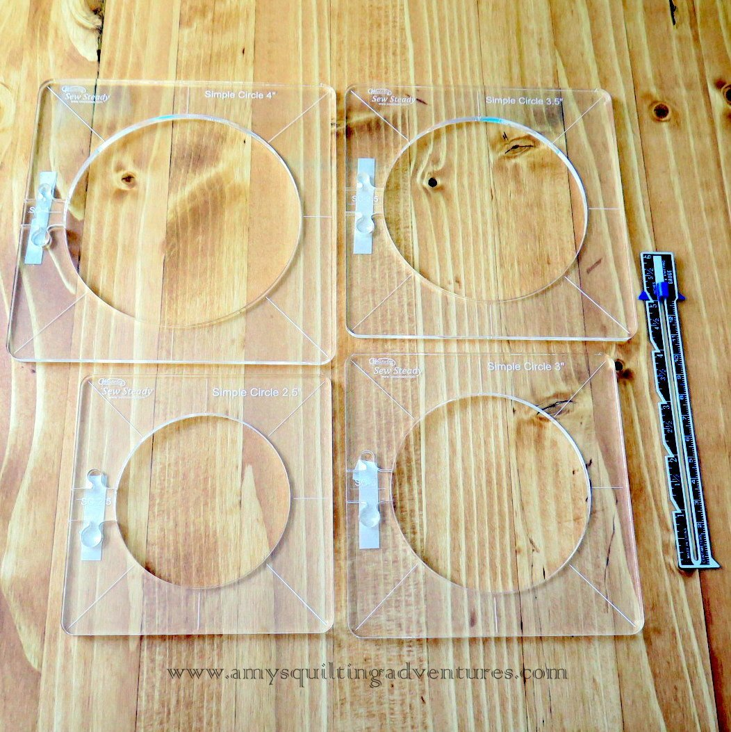 Westalee Simple Circles Set 2.5-4 inches