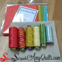 Sue Spargo Wool kit