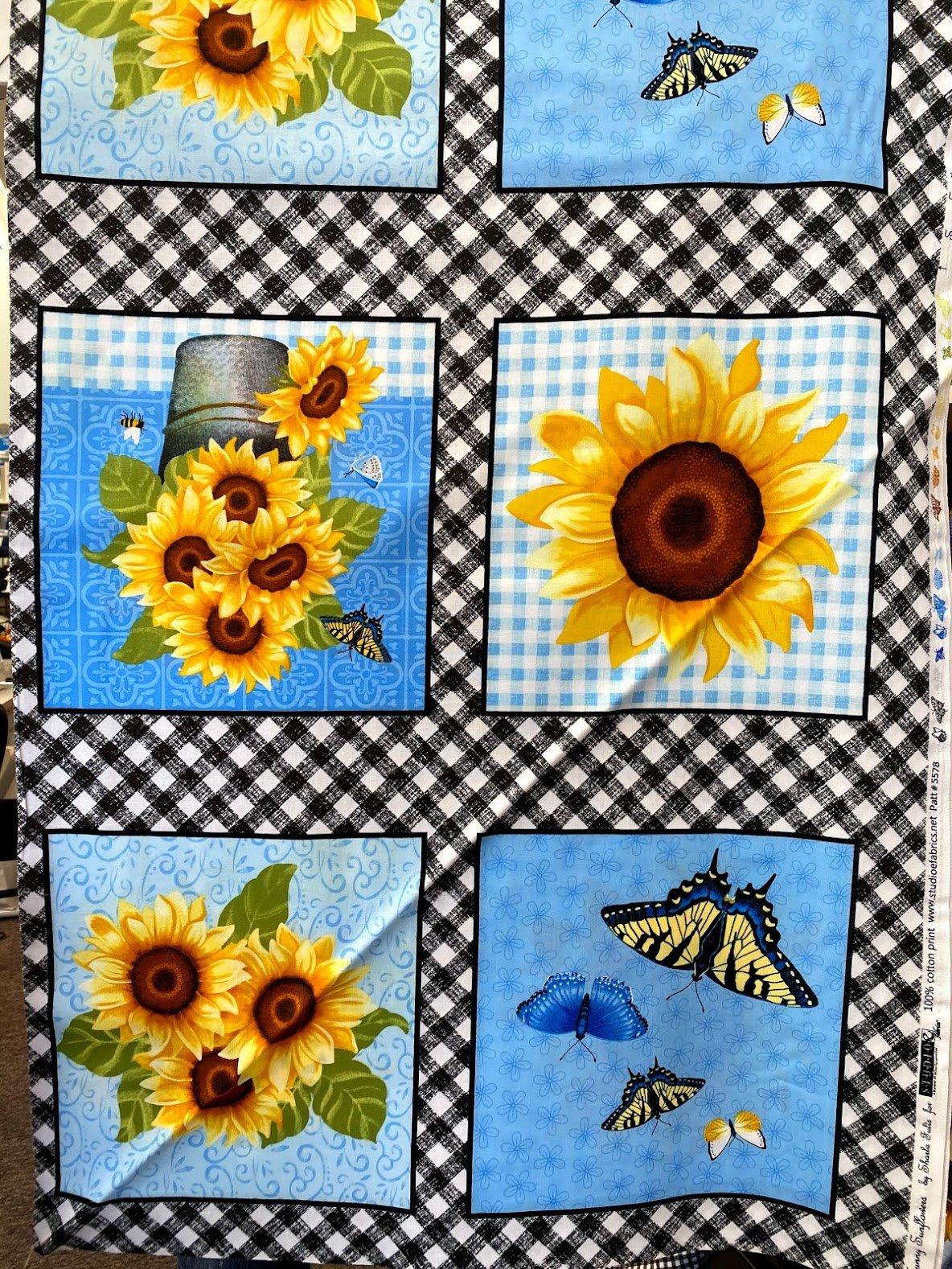 Sunny Sunflowers 5578-47