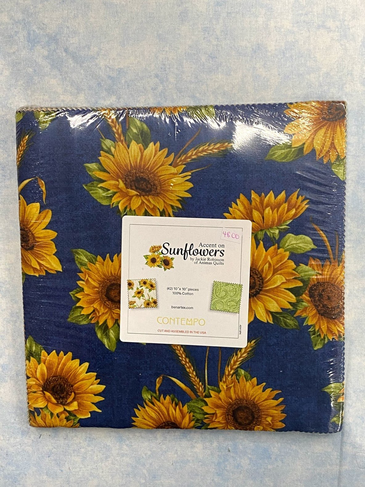 Accent on Sunflowers layer cake