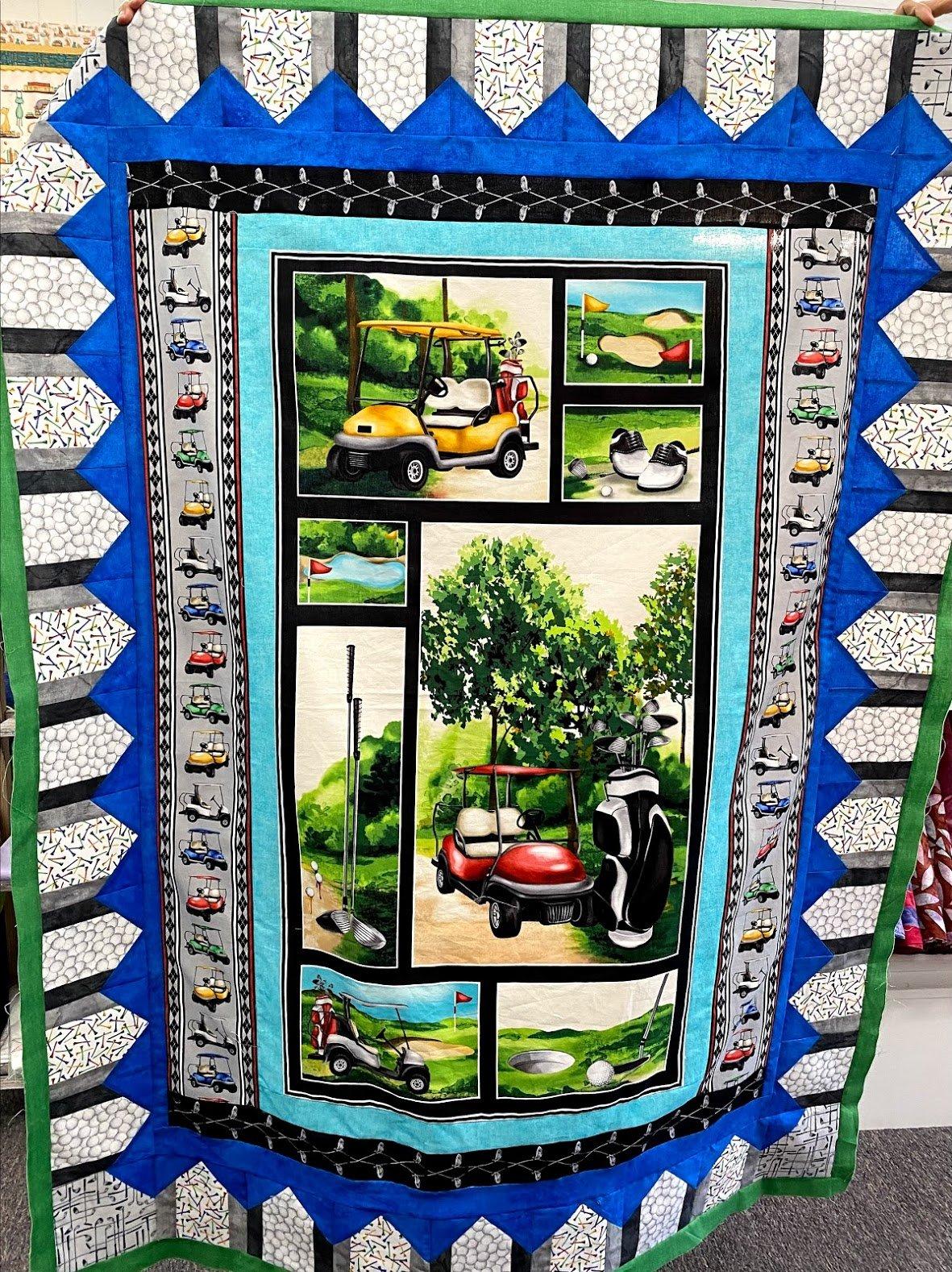 Back Nine Quilt Kit